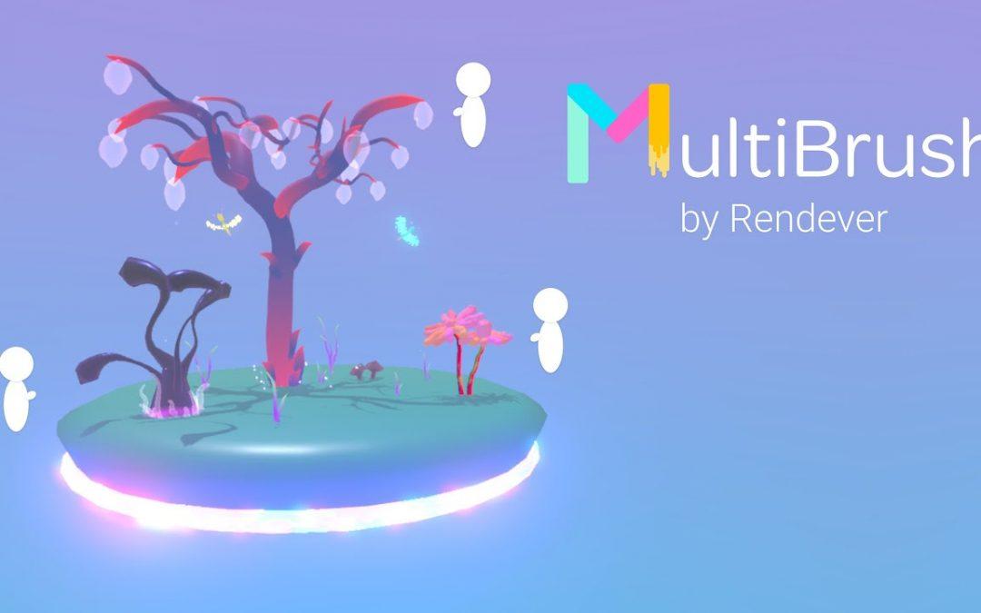 MultiBrush jako multiplayer pro Tilt Brush